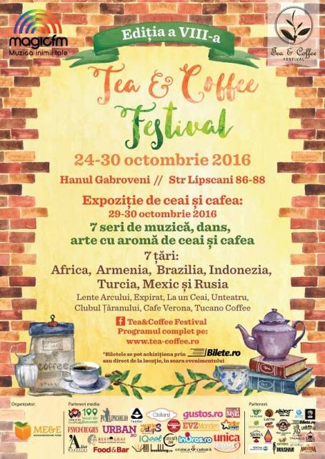 poster tea&coffee festival